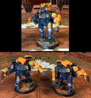 Tau Commander Zone, Nemesis Contingent by NyQuilDreamer