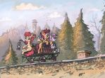 Narrow gauge adventure by Ulyanovetz