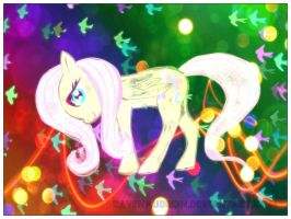 Party Fluttershy! by ravenaudron