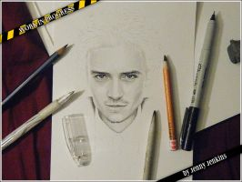 Orlando Bloom - WIP by thewholehorizon