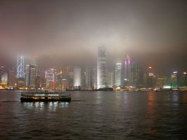 Hong Kong Harbour by Mungogreen