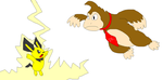 Pique VS Donkeykong by Elfcoach