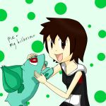 Me and my bulbasaur by Rachel-angelhero