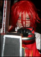 Grell's Chainsaw by fallnangeltears