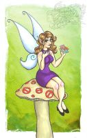 Pixie Hollow's NEW TALENT by Mermaid-Kalo