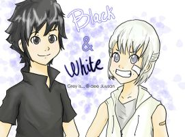 Black and White for Juusan by Dima-Chan