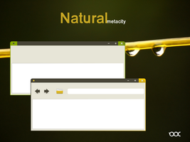 Natural metacity - Mockup by 0rAX0