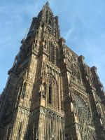 Strasbourg Cathedral, perspective by NinetHB