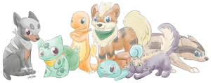 Pokemonteam! by Sabroo