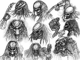Predator Portraits IV by ButtZilla