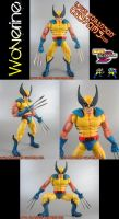 Marvel Vs Capcom Wolverine by KyleRobinsonCustoms