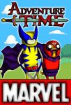 Fin and Jake Marvel by VitorFF