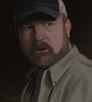 Bobby Singer by TimelordLoki