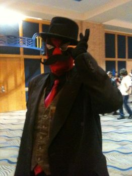 Metrocon 2012:Gentleman Deadpool by RainbowsOfDarkness