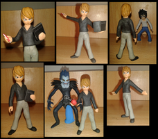 Light Yagami plastilina by fsalkatras