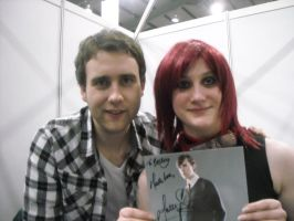 Me and Matthew Lewis by emopuppy07