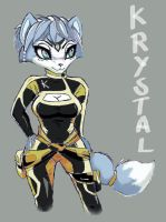 Krystal new suit other one by shiroiwolf
