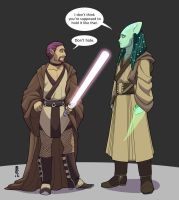 Costume Challenge - Jedi Robes by NuisanceBearEull