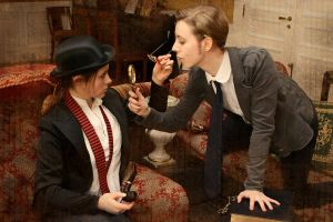 Holmes and Watson cosplay II by MigraineSky
