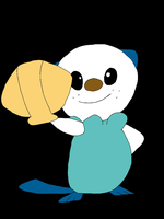 Oshawott Colored by SkulblakaShurtugal