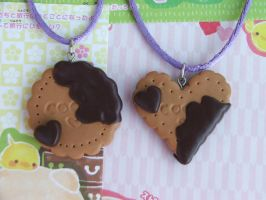 Choco Love Cookies by Libellulina