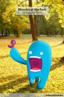 Monster at the Park Wall Pack by eR0n22