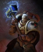 Space Marines: Gabriel Angelos by xraypr