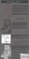 Grayscale Smudge Tutorial by sugarpoultry