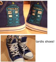 tardis shoes by sasukeharber