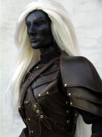 The Dark Elf OOAK Artist BJD by DalilaDolls