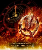 Catching Fire Poster by echosong001