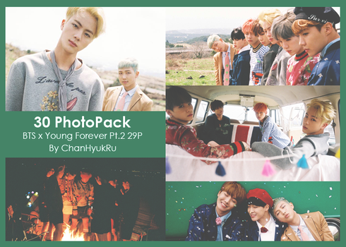 30 / BTS x Young Forever Pt.2 PhotoPack by ChanHyukRu