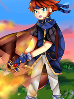 Flame Roy by PastelSweets