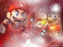 Mario Mario strikers bg by pinkprincess-peach