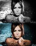 Miley Cyrus [Colorization] by Anuya