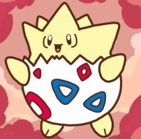 Happy Togepi by Snover1