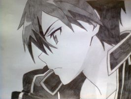Kazuto Kirigaya - Kirito(Sword Art Online) by Dread333