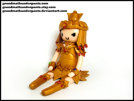Sailor Galaxia Figure by GrandmaThunderpants