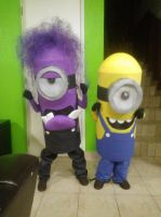 Mis Minions by 2demaciza