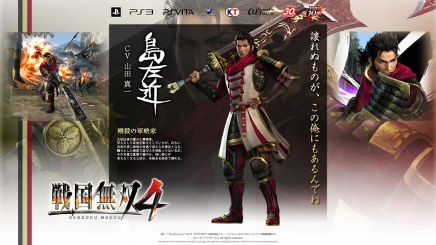 SW4 Wallpaper - Sakon Shima by Koei-Warrior