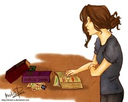 He's only in books now by lumen-a