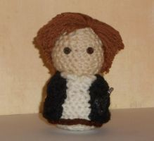 Han Solo Amigurmi Doll by Craftigurumi