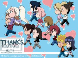 Chibi Couples II + 10.000 Hits by darkgal666
