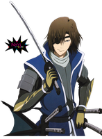 Masamune Date Render by Lucarity