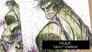 SpeedPaint: Hulk by RobDuenas