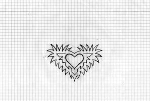 Spikey Heart Pattern by Calexio3