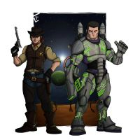 Buzz and Woody by bob6kills