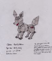 Fakemon Clankeon by UmbreonShadowWolf004