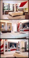 Bedroom v1 by yoyowinds