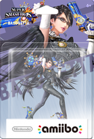 amiibo Bayonetta Super Smash Bros. (boxart) by Oriali31